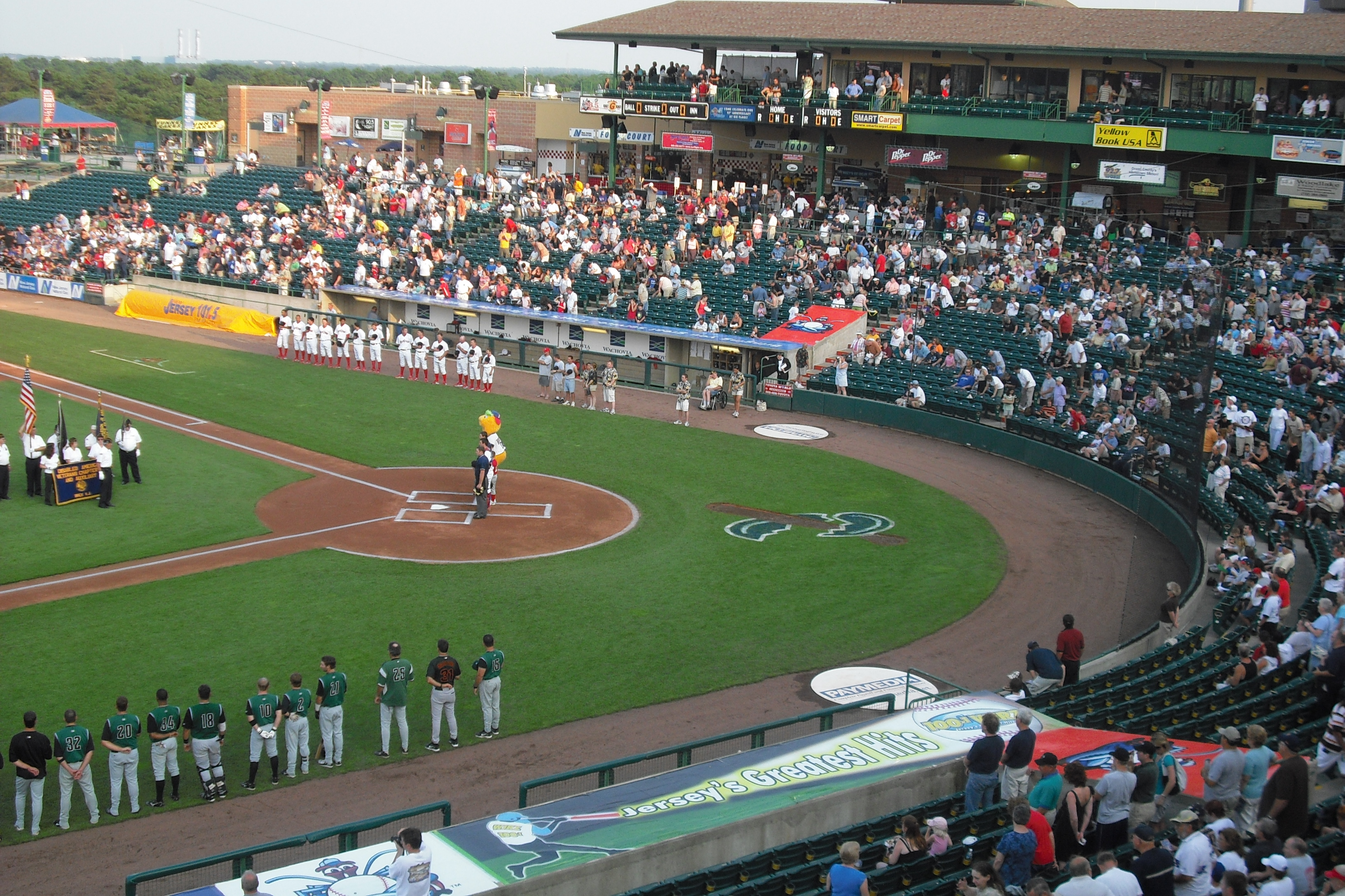 Photos: Augusta Greenjackets @ Lakewood Blue Claws 7/8/2008 | Bus ...