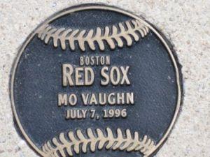 mo vaughn plaque