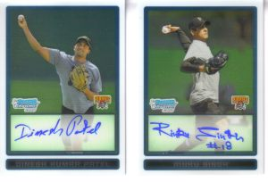 rinku and dinesh baseball cards